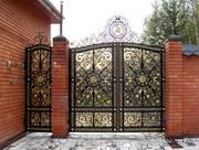 Ворота гаражные: секционные,  стальные утеплённые,  промышленные на заказ любой конфигурации