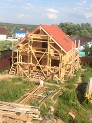 Построим деревянных дома из бруса и бревна