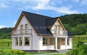 Удивительно красивый и прочный дом  из сип-панелей