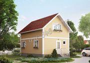 Дом для всесезонного проживания со сборкой на участке