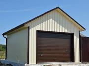 Строительство гаражей,  боксов и производственных помещений под ключ