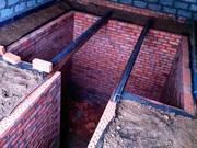 Ремонт,  строительство смотровой ямы,  погреба,  Погреб монолитный