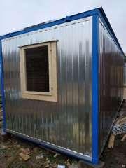 Блок контейнер для строителей 6х2.4
